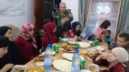 Vídeo: Ejército sirio libera a civiles secuestrados por EIIL