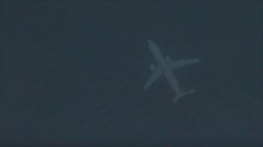 Vídeo: Hallan un avión hundido en el mar gracias a Google