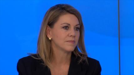 Cospedal abandona la política en España por audios de Villarejo