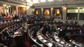 Diputados guatemaltecos amenazan con prisión a sus criticos