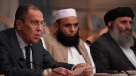 """Lavrov expresa """"compromiso"""" de Rusia con la paz en Afganistán"""