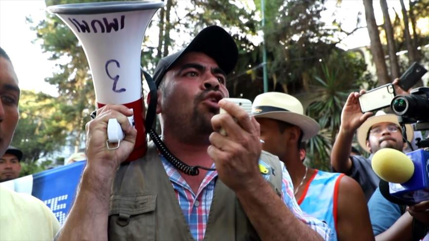 En México migrantes exigen traslado seguro a la frontera con EEUU