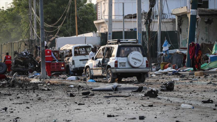 Atentado múltiple deja 20 muertos y 40 heridos civiles en Somalia | HISPANTV