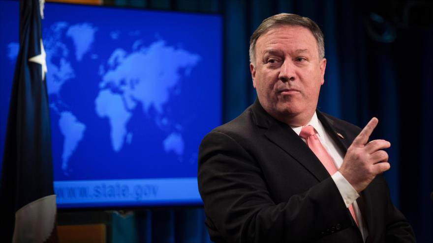 Pompeo: Irán debe escuchar a EEUU si quiere que su gente coma