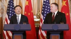 China pide a EEUU cesar envío de buques cerca de sus islas