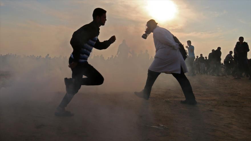 Soldados israelíes atacan a pacífica Marcha de Retorno en Gaza