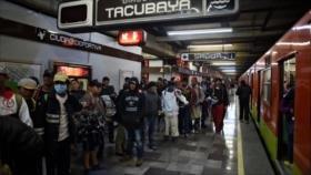 La caravana migrante sale dividida de Ciudad de México hacia EEUU