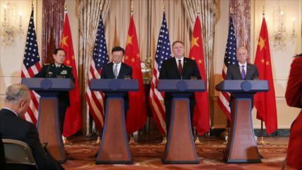 Pese a diálogos, discrepancias persisten entre China y EEUU