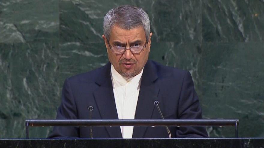 Irán reclama al mundo condenar sanciones extraterritoriales de EEUU