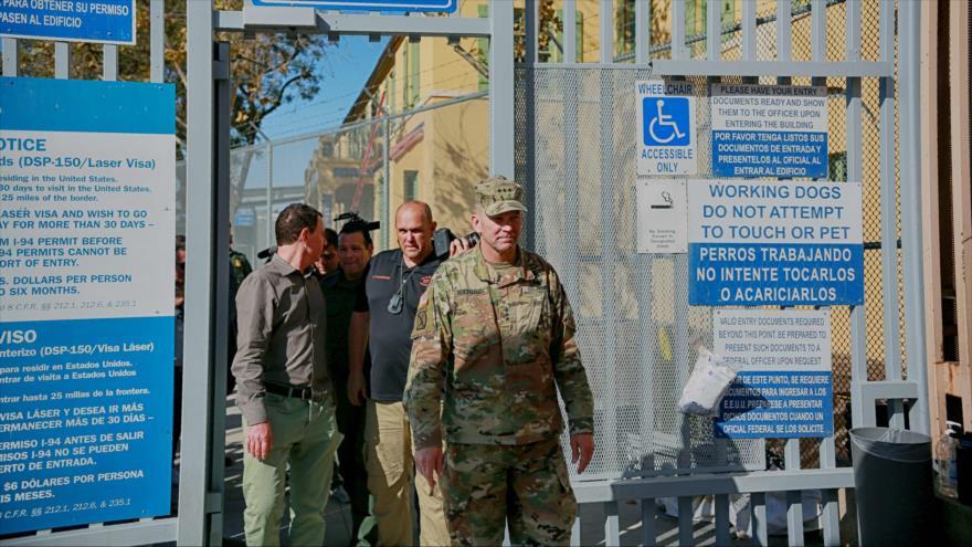 Ejército de EEUU advierte a caravana de migrantes de no dejar México