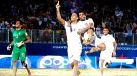 Irán vence a Egipto en la Copa Intercontinental de Fútbol Playa