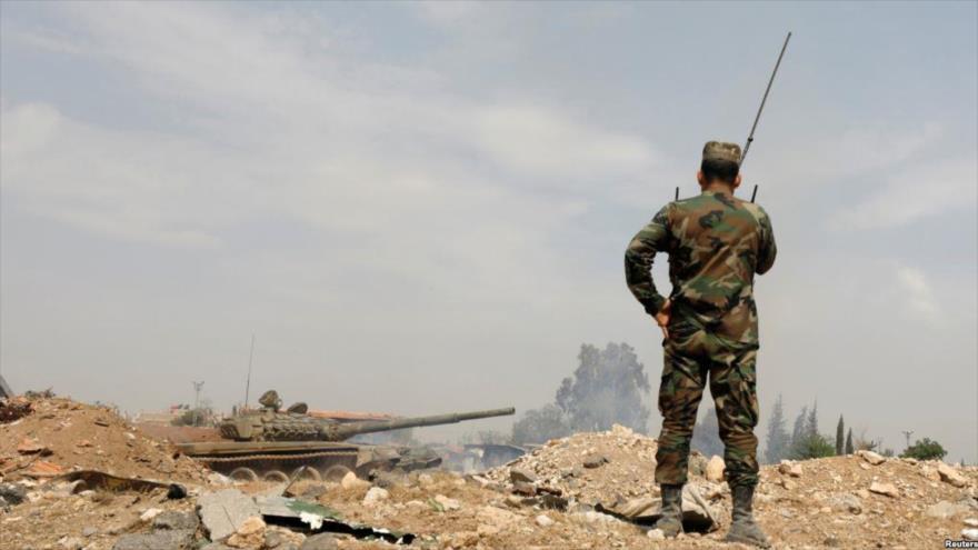Vídeo: Espía del Ejército sirio graba un cuartel rebelde en Idlib