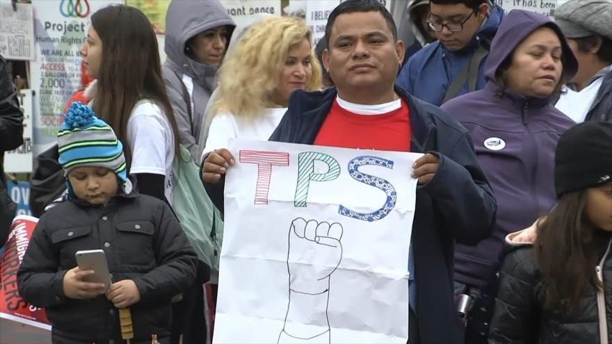 Trump quiere expulsarlos, Tepesianos exigen residencia permanente