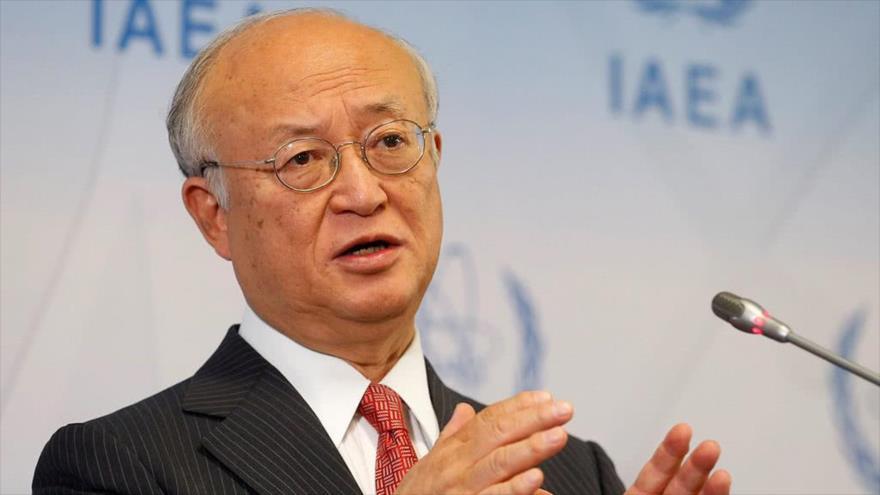 Director general de la Agencia Internacional de Energía Atómica (AIEA), Yukiya Amano.