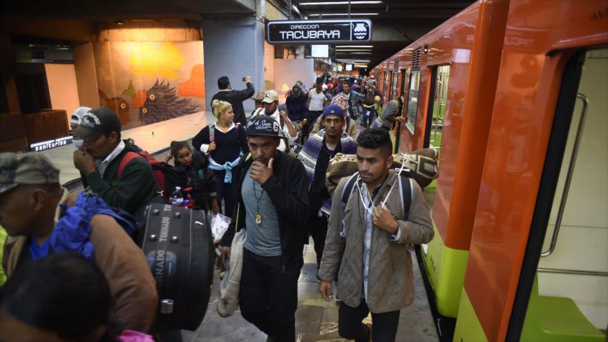 La ONU no puede dar transporte a caravana de migrantes hasta frontera de EEUU