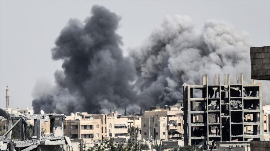 Damasco: EEUU ataca Siria para matar civiles y destruir sus infraestructuras