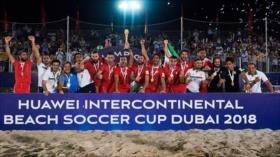 Irán se corona campeón de la Copa Intercontinental de Fútbol Playa