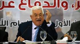 Palestina asegura que desbaratará 'acuerdo del siglo' de Trump