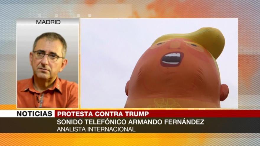 Fernández: Trump no será acogido en Europa por su unilateralismo