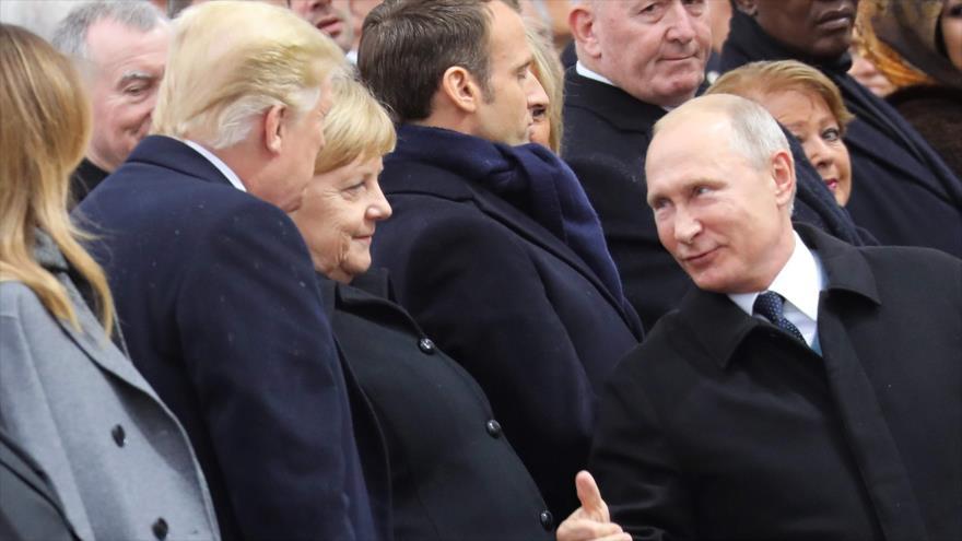Putin: Rusia, dispuesta al diálogo con EEUU, particularmente sobre INF