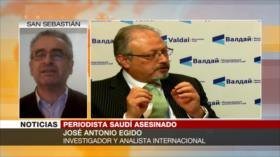 Egido: Al Saud comete sus atrocidades con la ayuda del Occidente