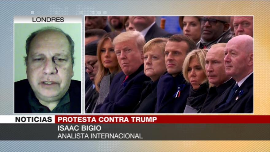 Bigio: Agendas belicistas y racistas de Trump le acorralan más