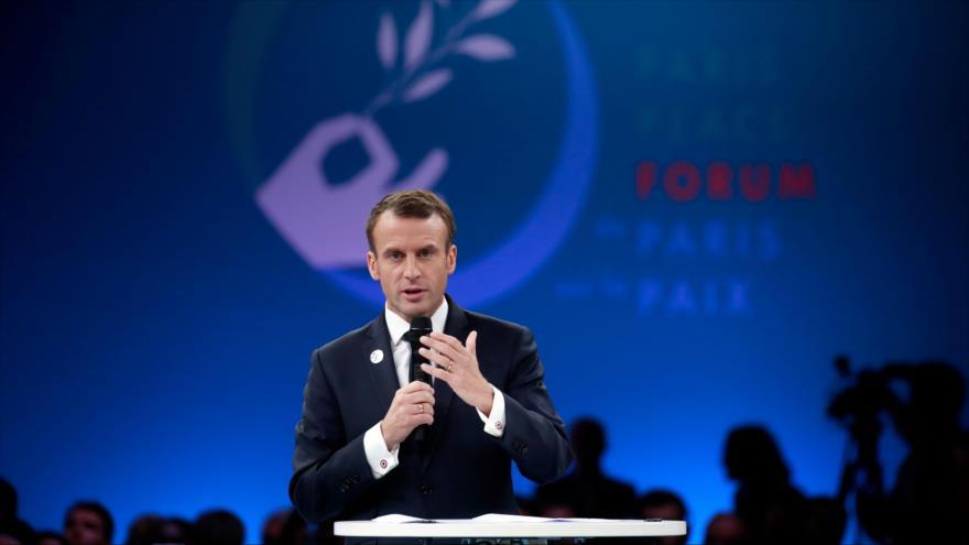 Macron: Europa no debe gastar más presupuesto en armas de EEUU | HISPANTV
