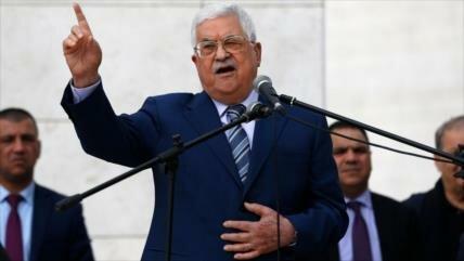 Abás: Israel y EEUU socavan reconocimiento de Estado palestino