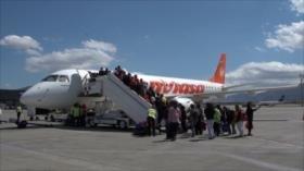 Despega en Chile primer vuelo de retorno para venezolanos migrantes