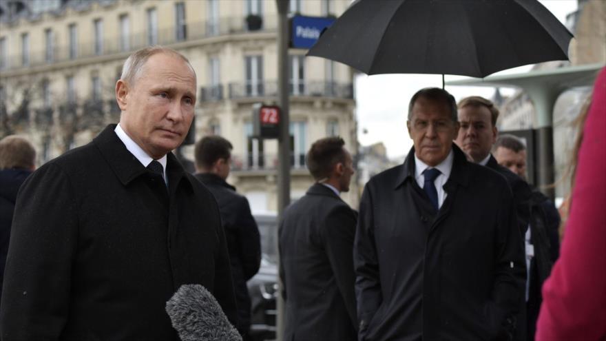 Putin, frente a Trump, ve positiva la idea de un ejército europeo