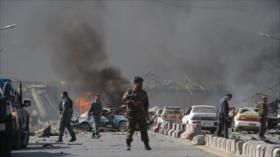 Atentado suicida deja 3 muertos y 8 heridos en Afganistán