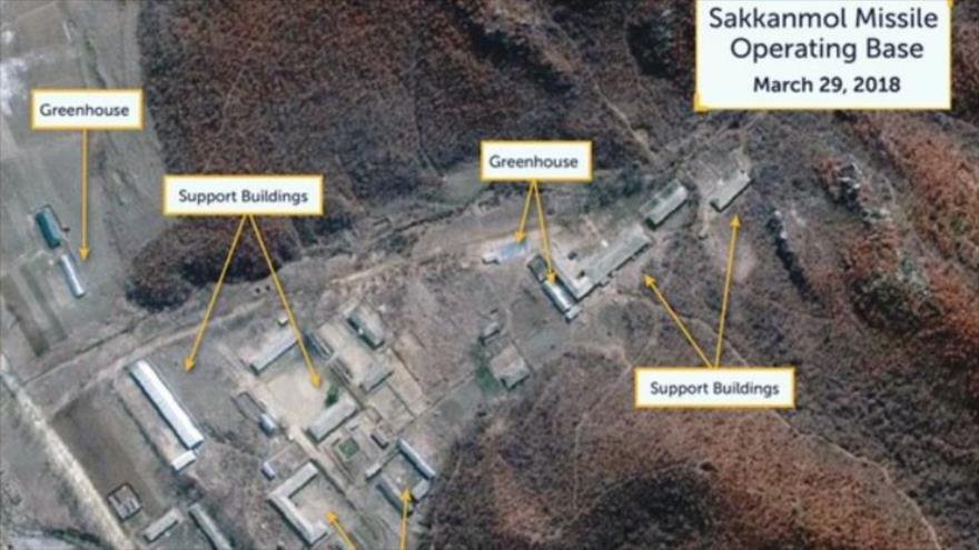 Los supuestos sitios de desarrollo de misiles balísticos en Corea del Norte. (Foto: CSIS)