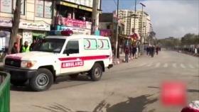 Agresión a Yemen. Atentado suicida en Afganistán. Protesta en México