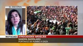 Barrilaro: Israel busca que la población palestina desaparezca
