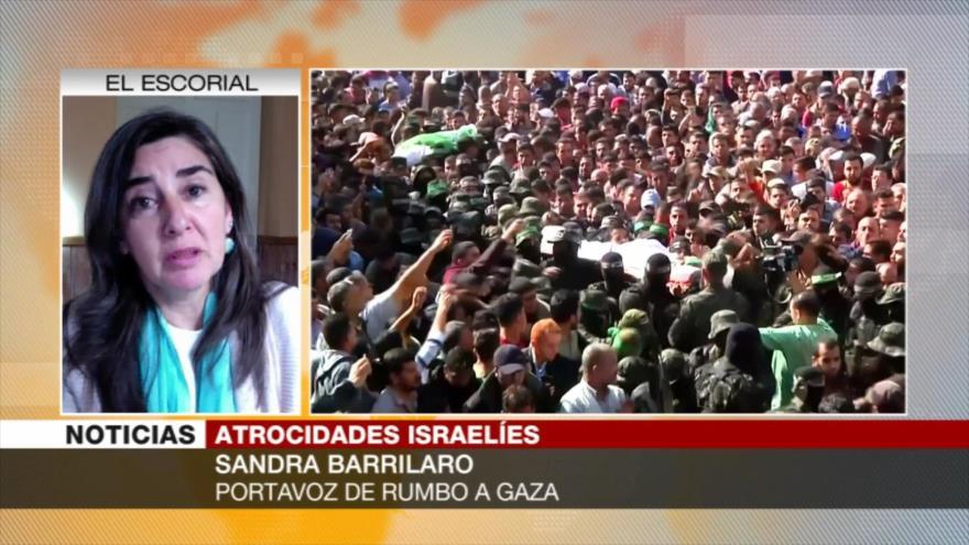 Sandra Barrilaro: Israel busca que la población palestina desaparezca