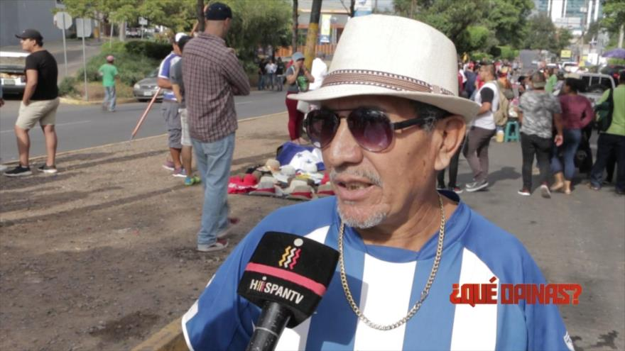 ¿Qué opinas?: ¿Quién manda en Honduras?