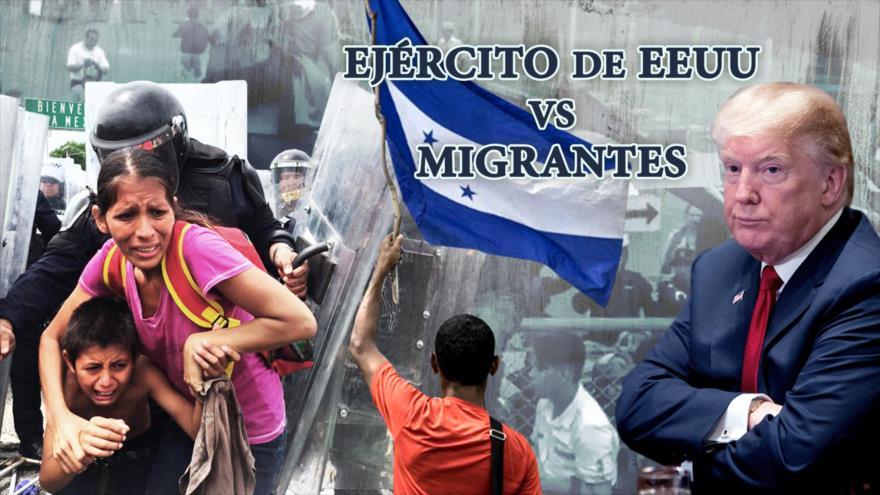 Detrás de la Razón; Alerta: Ejército de EEUU vs Caravana de Migrantes, la orden de Trump
