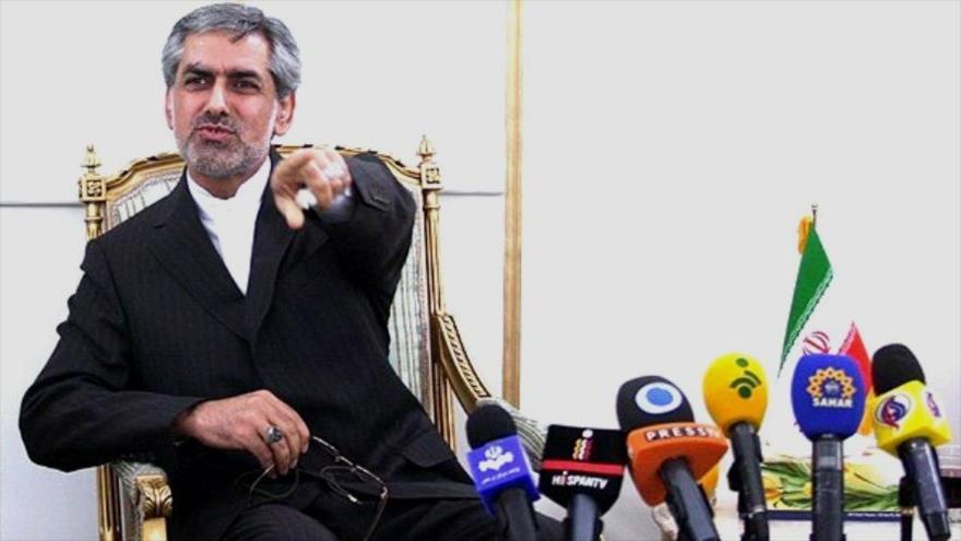 El embajador iraní en Cuba, Kambiz Sheij Hasani.