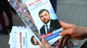 """España considera """"nulas"""" las elecciones en Donetsk y Lugansk"""