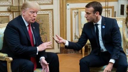 Trump a Macron: En París aprendían alemán antes de llegada de EEUU