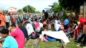 Continúa la odisea de migrantes por la frontera sur de México