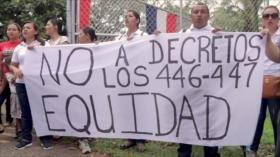 Docentes panameños rechazan politización de educación bilingüe