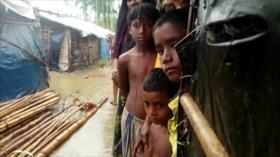 Los Rohingya prefieren vivir en situación infrahumana en Bangladés