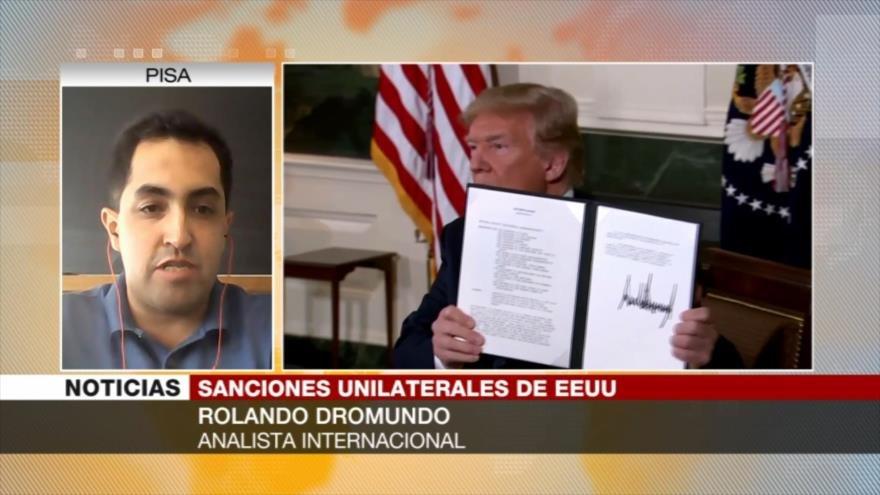 """Dromundo: Sanciones a Irán son """"errores estratégicos"""" de EEUU"""