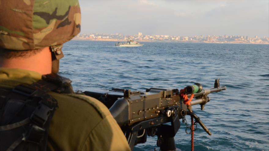 Militares israelíes matan a un pescador palestino en Gaza