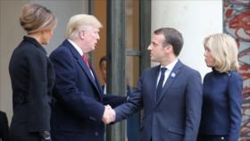 Francia sube el tono ante EEUU por falta de 'decencia' de Trump