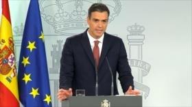 Sánchez responde sobre el desprestigio de la justicia española