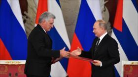 Rusia asegura que reforzará lazos militares con Cuba