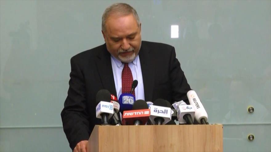 Avigdor Lieberman dimite; HAMAS lo festeja