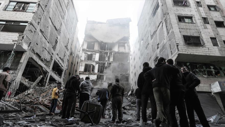 Siria condena 'sangrientas y racistas' agresiones de Israel a Gaza